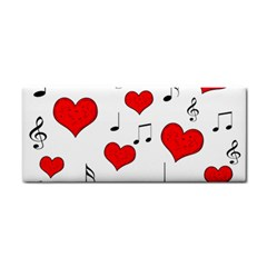 Love song pattern Cosmetic Storage Cases