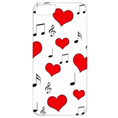 Love song pattern Apple iPhone 5 Classic Hardshell Case