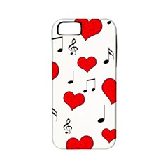 Love song pattern Apple iPhone 5 Classic Hardshell Case (PC+Silicone)