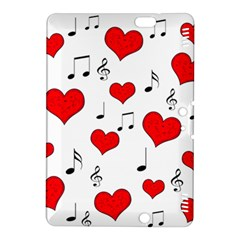Love song pattern Kindle Fire HDX 8.9  Hardshell Case