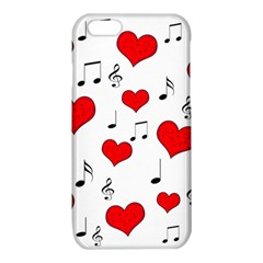 Love song pattern iPhone 6/6S TPU Case