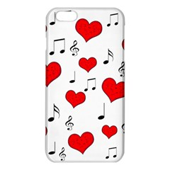 Love song pattern iPhone 6 Plus/6S Plus TPU Case