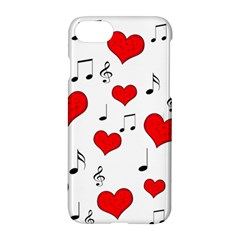 Love Song Pattern Apple Iphone 7 Hardshell Case
