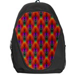 Apophysis Fractal Owl Neon Backpack Bag Front
