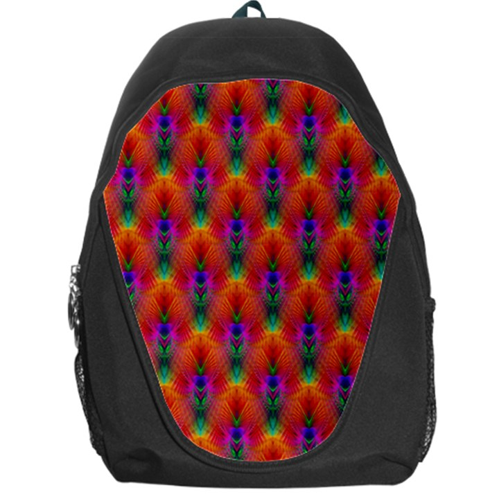 Apophysis Fractal Owl Neon Backpack Bag