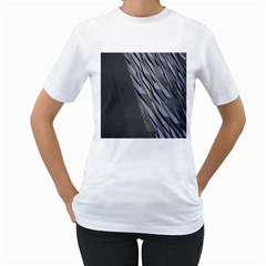 Architecture Women s T-Shirt (White) (Two Sided)
