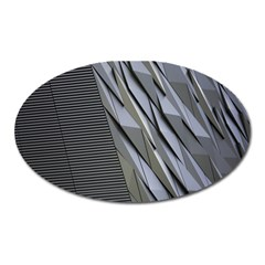 Architecture Oval Magnet
