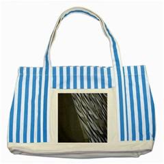 Architecture Striped Blue Tote Bag