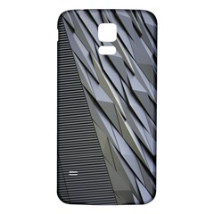 Architecture Samsung Galaxy S5 Back Case (White)