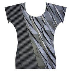 Architecture Women s Cap Sleeve Top