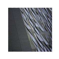 Architecture Small Satin Scarf (Square)