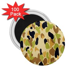 Army Camouflage Pattern 2.25  Magnets (100 pack)