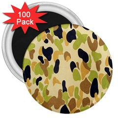 Army Camouflage Pattern 3  Magnets (100 pack)