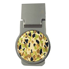 Army Camouflage Pattern Money Clips (Round)