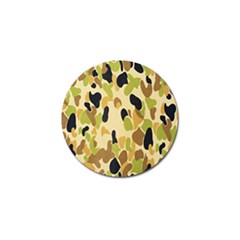 Army Camouflage Pattern Golf Ball Marker (4 pack)