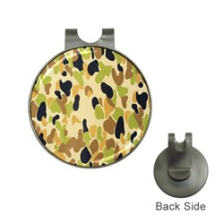 Army Camouflage Pattern Hat Clips with Golf Markers
