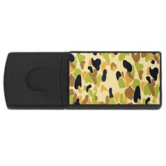 Army Camouflage Pattern USB Flash Drive Rectangular (4 GB)