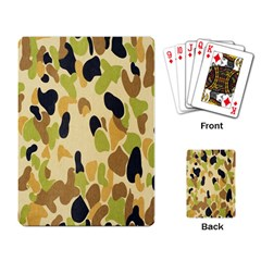 Army Camouflage Pattern Playing Card