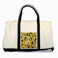 Army Camouflage Pattern Two Tone Tote Bag