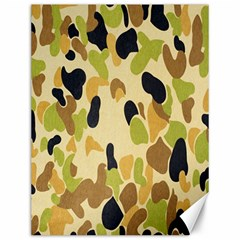 Army Camouflage Pattern Canvas 12  x 16