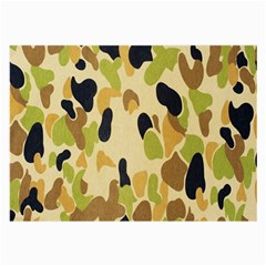 Army Camouflage Pattern Large Glasses Cloth