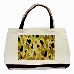 Army Camouflage Pattern Basic Tote Bag (Two Sides)