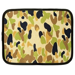 Army Camouflage Pattern Netbook Case (XL)