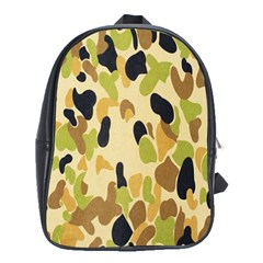 Army Camouflage Pattern School Bags(Large)