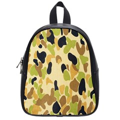 Army Camouflage Pattern School Bags (Small)