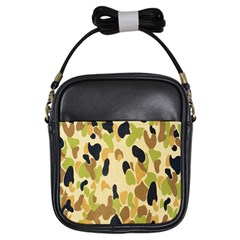 Army Camouflage Pattern Girls Sling Bags