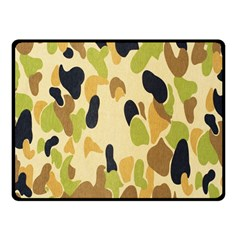 Army Camouflage Pattern Fleece Blanket (Small)