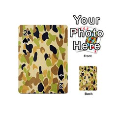 Army Camouflage Pattern Playing Cards 54 (mini)