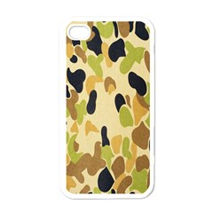 Army Camouflage Pattern Apple iPhone 4 Case (White)