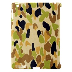 Army Camouflage Pattern Apple Ipad 3/4 Hardshell Case (compatible With Smart Cover)