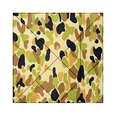 Army Camouflage Pattern Acrylic Tangram Puzzle (6  x 6 )