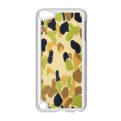 Army Camouflage Pattern Apple iPod Touch 5 Case (White)