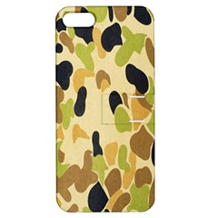 Army Camouflage Pattern Apple iPhone 5 Hardshell Case with Stand