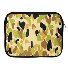 Army Camouflage Pattern Apple iPad 2/3/4 Zipper Cases