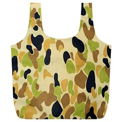 Army Camouflage Pattern Full Print Recycle Bags (L)