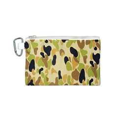 Army Camouflage Pattern Canvas Cosmetic Bag (s)