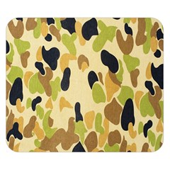 Army Camouflage Pattern Double Sided Flano Blanket (Small)
