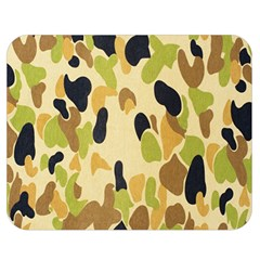 Army Camouflage Pattern Double Sided Flano Blanket (medium)