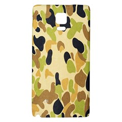 Army Camouflage Pattern Galaxy Note 4 Back Case