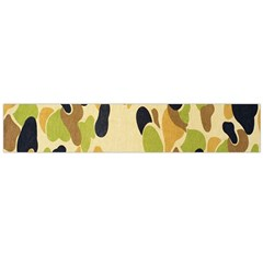 Army Camouflage Pattern Flano Scarf (Large)