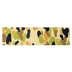 Army Camouflage Pattern Satin Scarf (Oblong)