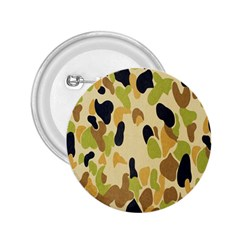 Army Camouflage Pattern 2.25  Buttons