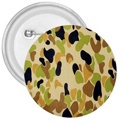 Army Camouflage Pattern 3  Buttons