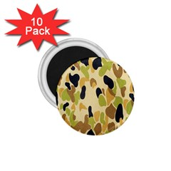 Army Camouflage Pattern 1.75  Magnets (10 pack)