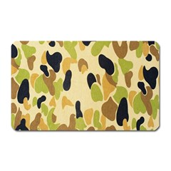 Army Camouflage Pattern Magnet (Rectangular)