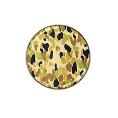 Army Camouflage Pattern Hat Clip Ball Marker (4 Pack)